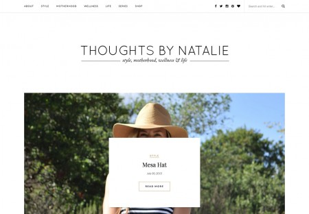 Thoughts by Natalie