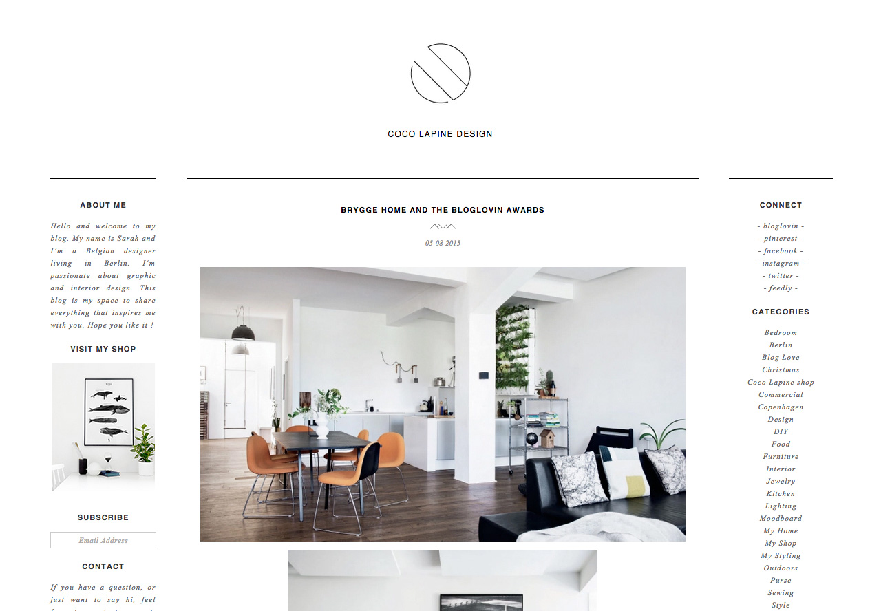 coco lapine design home decor blog wordpress custom best wordpress themes real estate trend home design and