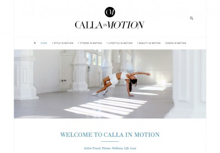 Calla in Motion