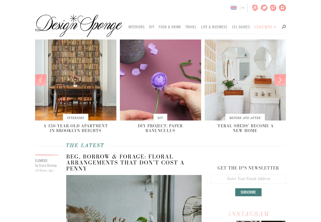 Home Decor blog designs for Wordpress, Blogger and more - idthed.