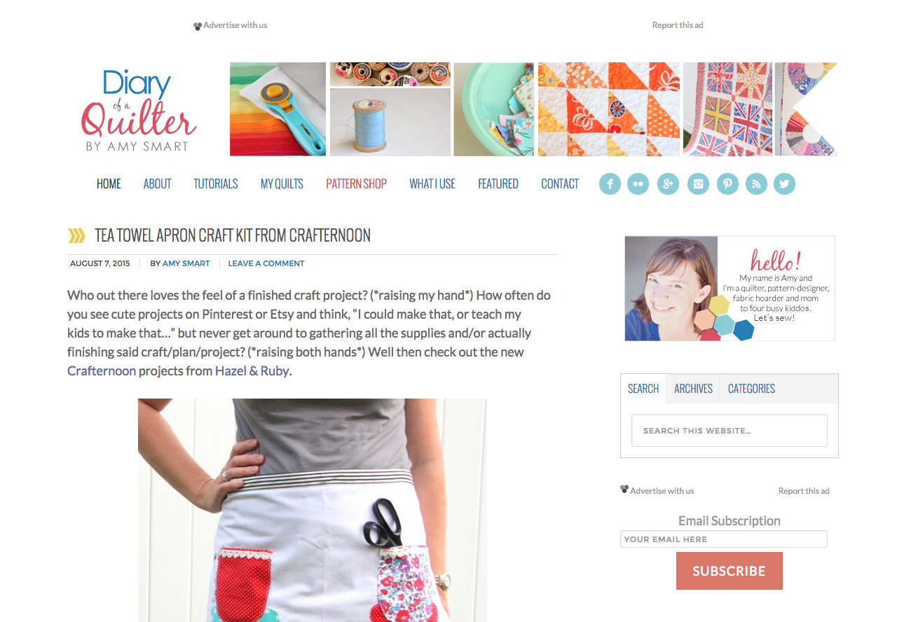 Diary of a quilter diy crafts blog wordpress theme designed by diary of a quilter diy crafts blog wordpress theme designed by diary of a quilter idthed baditri Choice Image