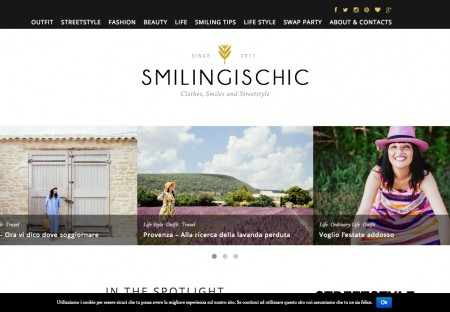Smiling is Chic