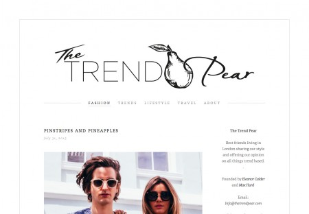 The Trend Pear