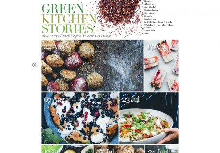 green kitchen themes green kitchen stories food blog wordpress theme designed by
